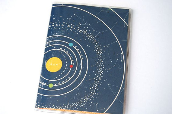 Passport cover solar system