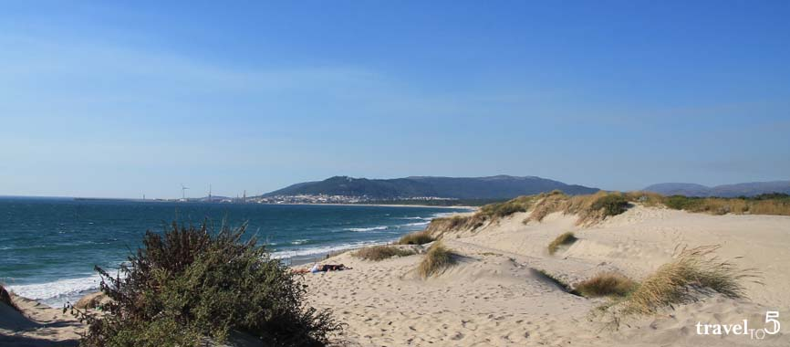 Beaches of Viana do Castelo North of Portugal