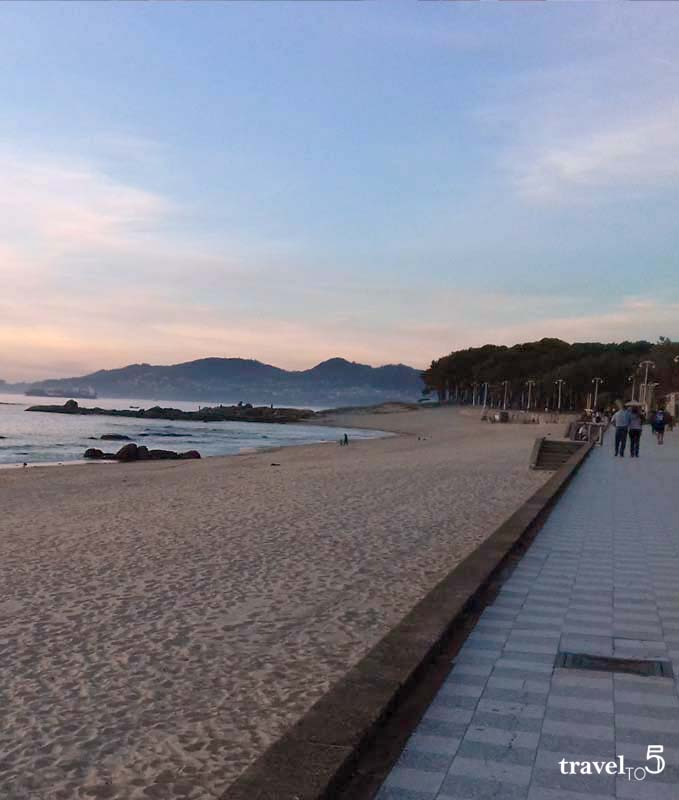 Samil, the urban beach