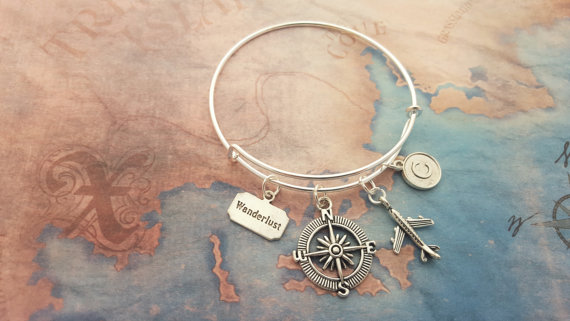 Travel bangle jewellery etsy