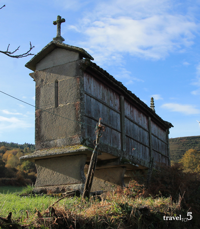 Horreo Galician granary structure