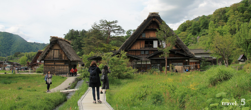 Unesco World Heritage Shirakawago village Japan