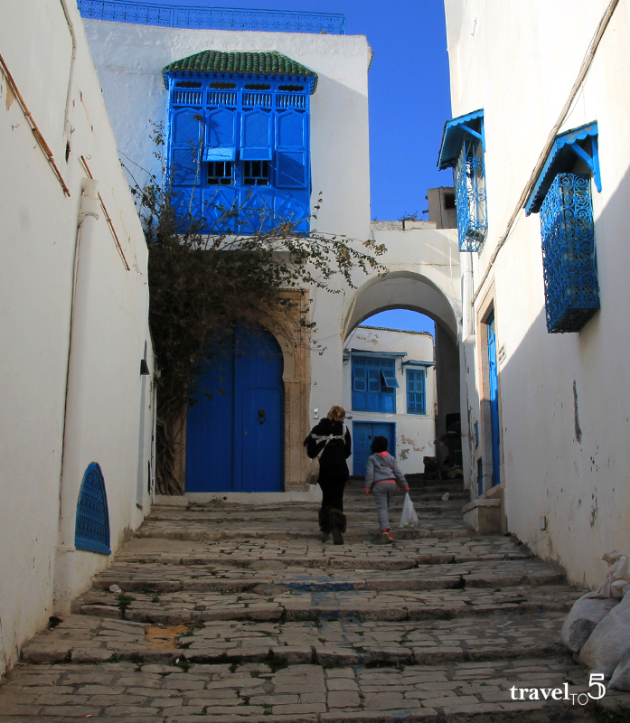 Tunis must sees Sidi Bou Said village